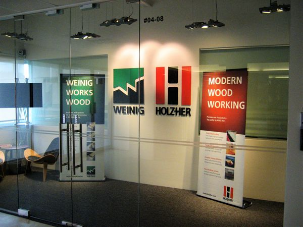 Location Sales and Service of HOLZ-HER Asia, Singapore