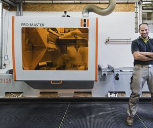 Reference 5-axis CNC from HOLZ-HER CNC - the Promaster 7125