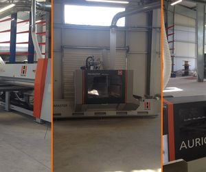 HOLZ-HER reference customer in the Caribbean with edgebander, panel saw and CNC machining center